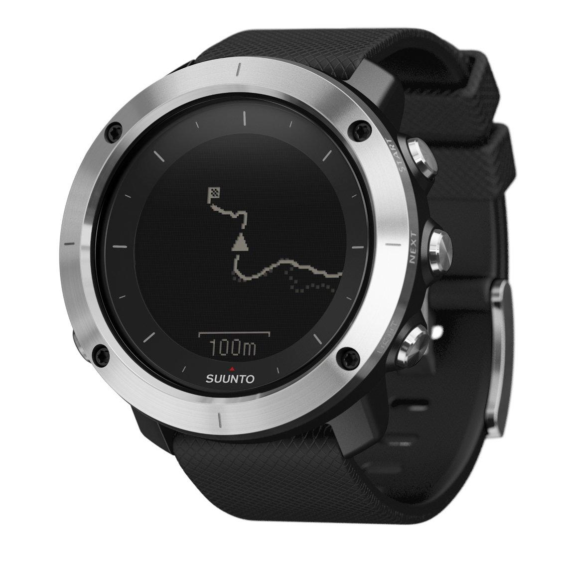 SUUNTO TRAVERSE (スント トラバース) スマートウォッチ GPS 登山 気圧計 [日本正規品] B016N360MO  ブラック