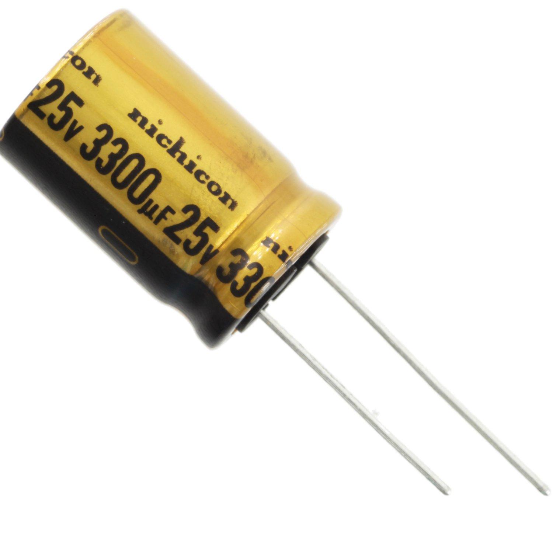 Nichicon Elko Audio Grade ufw2a331mhd 330uf 100 V 12,5x25mm rm5 85 ° #bp 2 pc
