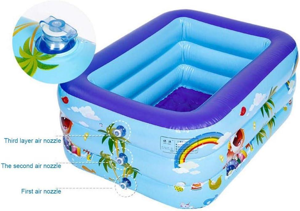 1,5 M 1,3 M 1,2 M 1,8 M 2,1 M Exuberanter Family Pool Aufblasbar Kinderpool Planschbecken Dickes Sicheres F/ür Kinder Erwachsene Sommerwasserparty