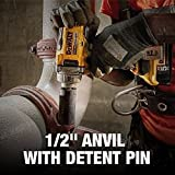 DEWALT 20V MAX XR Cordless Impact Wrench Kit with