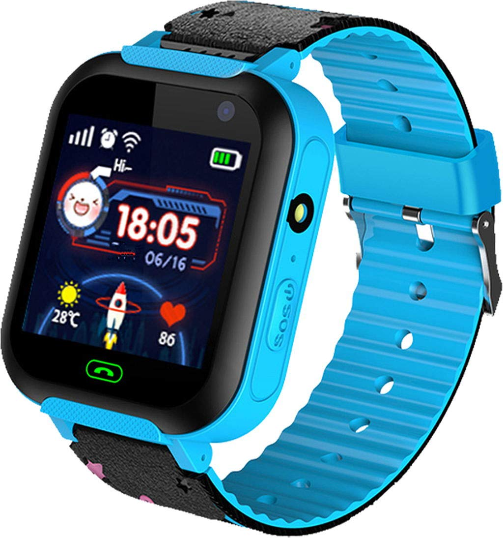Kids Intelligent Two-Way GSM Audio Alarm LBS Tracker Smart Watch 1.44 Inch