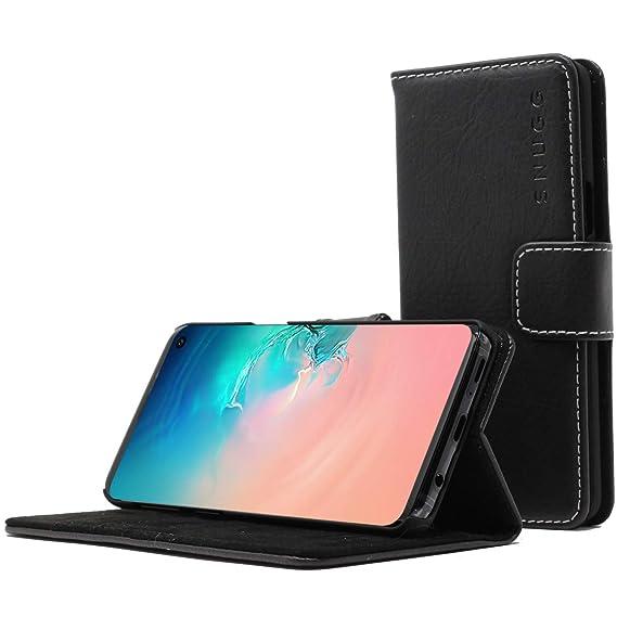 best loved 69d5d a3640 Amazon.com: Snugg Samsung S10e Wallet Case – Leather Card Case ...