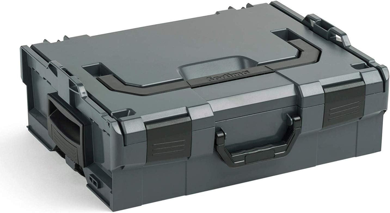 BOSCH SORTIMO L-BOXX 136 Gr2 Anthracite Vide 3s Set Syst/ème de Transport Innovant