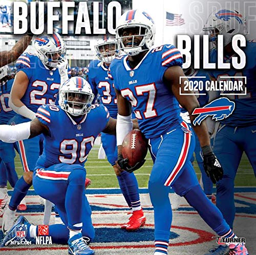 Buffalo Bills Schedule 2020.Buffalo Bills 2020 12x12 Team Wall Calendar Lang Companies