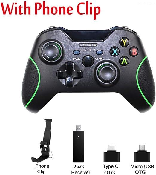 STHfficial Controlador Inalámbrico 2.4G para La Consola Xbox One ...