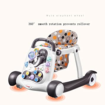 Baby Walker Multifuncional Anti-Rollover Male Baby Female Baby ...