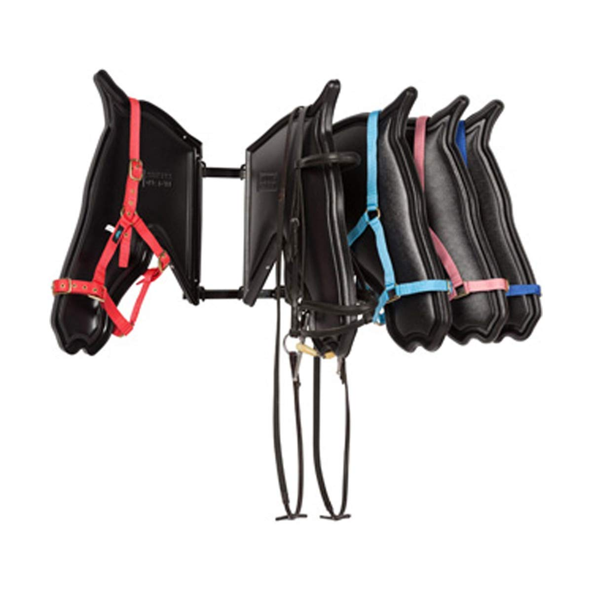 Stubbs Multi Heads Bridle Stand (One Size) (Black) by Stubbs