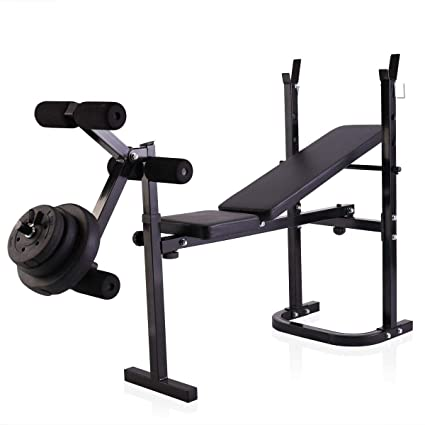 Cool Amazon Com Foldable Weight Bench Lifting Press Multi Gmtry Best Dining Table And Chair Ideas Images Gmtryco