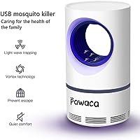 Pawaca Lampe Anti-moustiques Portable USB pour Chambre à Coucher, Cuisine, Bureau, intérieur et extérieur - sans Danger pour Les Enfants, Non Toxique, sans rayonnement, Silencieux