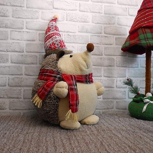 WYING Navidad Decoración De Escritorio Juguete de Peluche Erizo De ...