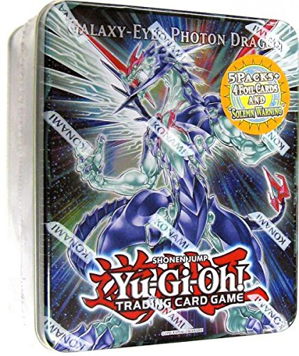 Yu-Gi-Oh Toy SG/_B005RSZXXO/_US YuGiOh Galaxy-Eyes Photon Dragon Collectible Tin Sealed!