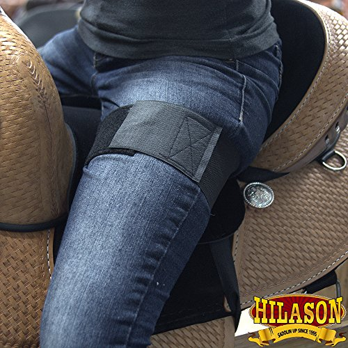 61ecMCIxN6L - HILASON ANTI SLIP GRIP HORSE WESTERN SADDLE SEAT COVER BARREL TRAIL SHOW RIDING BLACK