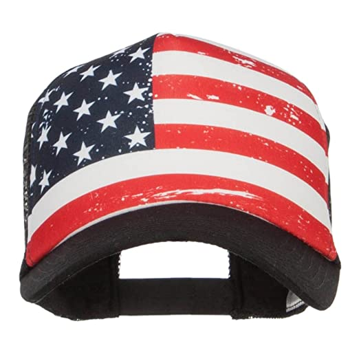 MG USA Flag Foam Trucker Cap