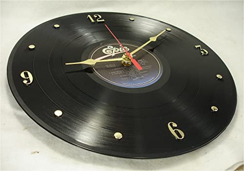 IT S OUR EARTH Wall Clock Created with a Michael Jackson LP Record