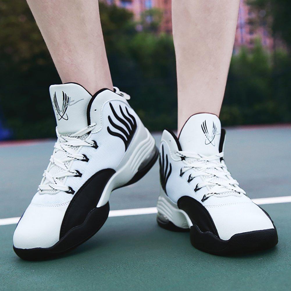 No.66 TOWN Mens Air Shock Absorption Running Tennis Shoes Sneaker Basketball Shoes Sho0268-7052b-8m