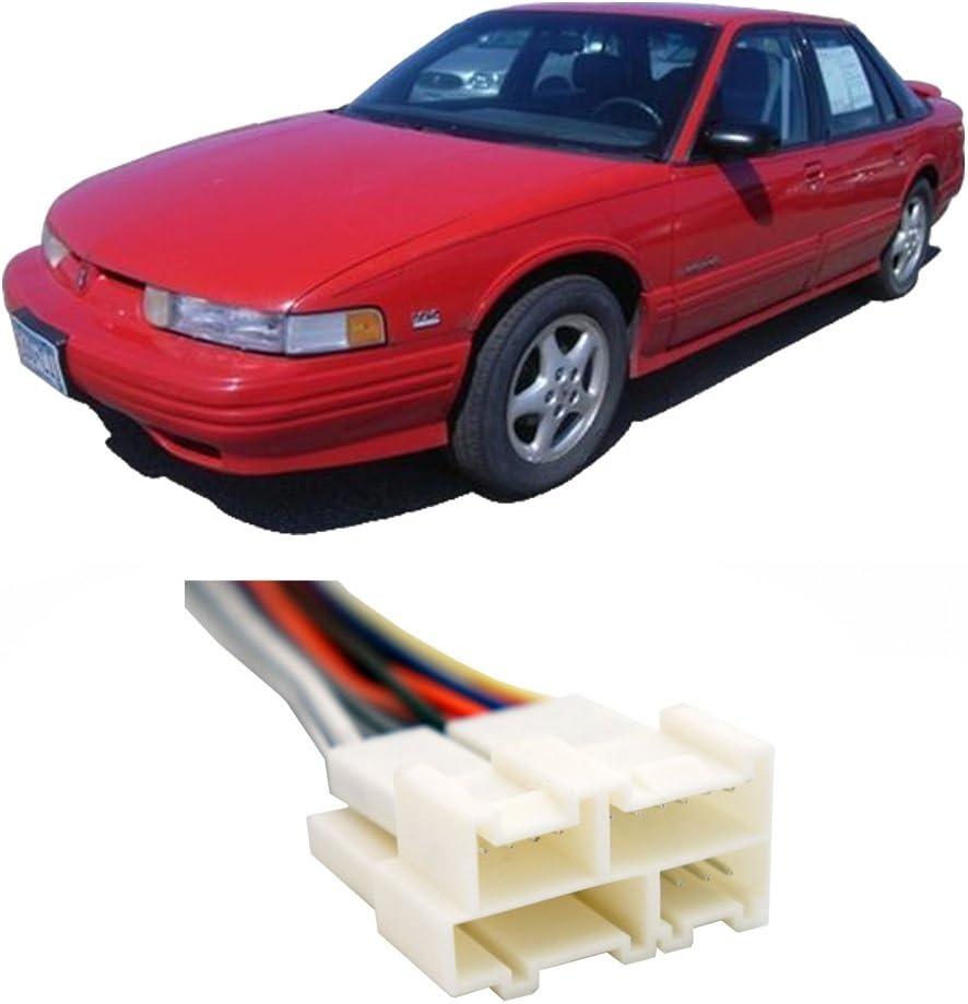 1990 cutlass supreme wiring diagram amazon com compatible with oldsmobile cutlass supreme 1990 1994  oldsmobile cutlass supreme 1990 1994
