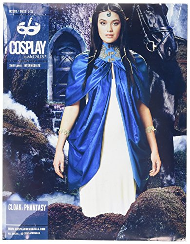 Cosplay By McCall's Cosplay M2092 Z,Cloak:Phantasy Capes,Sizes LRG-XLG, Tissue Multi-Colour, X-Large -