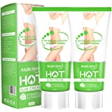 Hot Cream, Cellulite Slimming & Firming Cream, Abdominal Fat Burner, Deep Tissue Massage and Muscle Relaxant for Shaping…