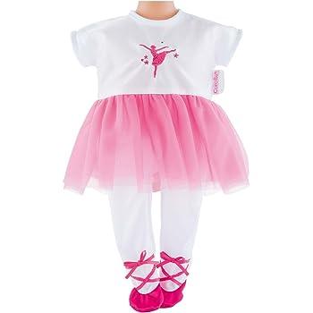 Corolle DMV82 Mon Premier Ballerina Fuchsia Suit Doll, 12 Inches