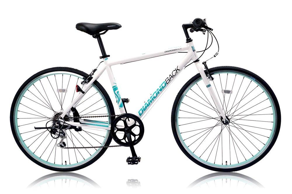 DIAMOND BACK(ダイアモンドバック) 700Cクロスバイク シマノ6段変速 アルミフレーム DB-706AL WHITE(2015) B00WYQ4XY2