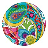 French Bull Raj- 10-Inch Round Dinner Plates, 10-Count