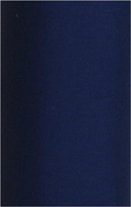 Tela, algodón, monocolor, azul marino, ancho 115 cm, se vende por ...