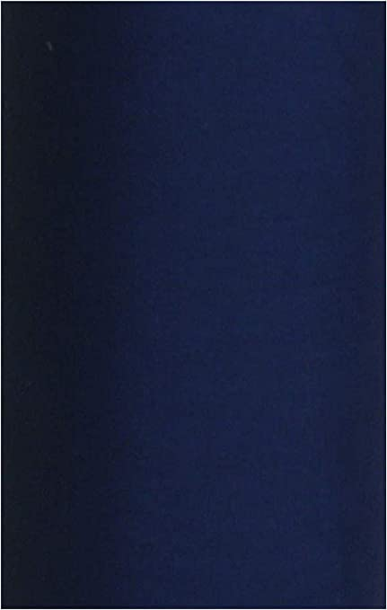 Tela, algodón, monocolor, azul marino, ancho 115 cm, se vende por metros: Amazon.es: Hogar