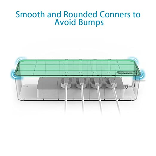 Amazon.com: QICENT Cable Management Electrical Outlet Boxes 15.34 ...
