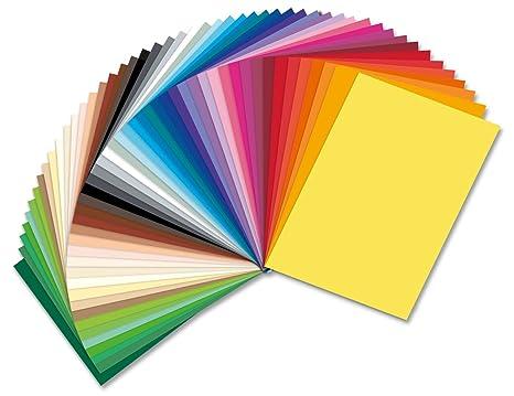 8e47b326298047 Tonpapier 130g Sonderedition 50 Bogen in 50 Farben 35x50cm  Amazon.de   Spielzeug
