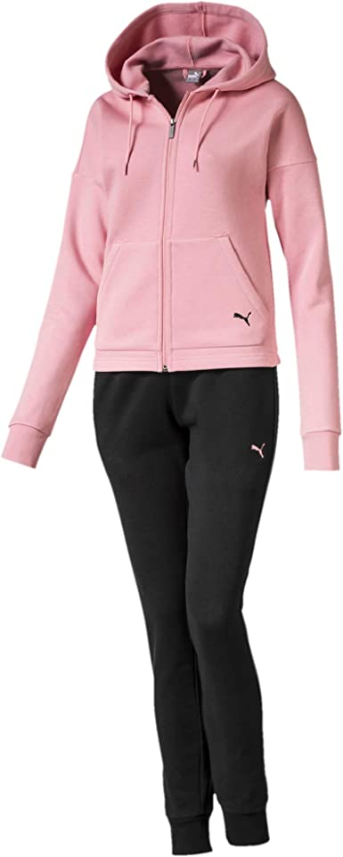 PUMA Classic HD. Sweat Suit, Cl Chándal, Mujer: Amazon.es: Ropa y ...