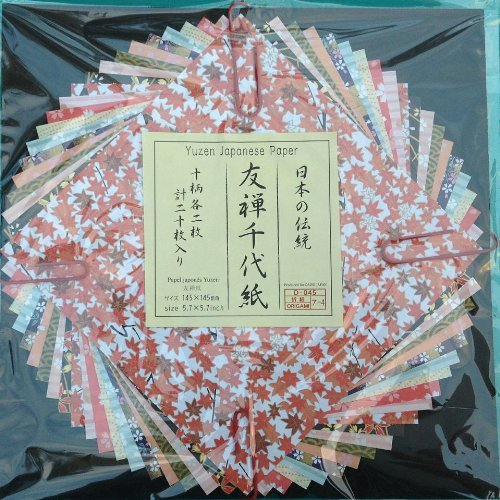Yuzen Japanese Paper - Origami Paper Animal Prints