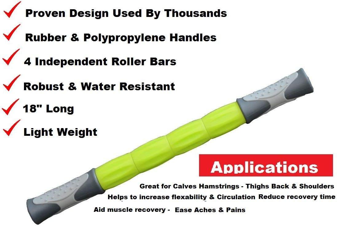 IQI Massage Roller Stick Deep Tissue Trigger Point Sports Massage