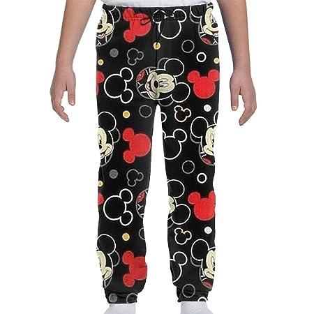 LCXjj - Pantalones de chándal para jóvenes con Fondo Negro de ...