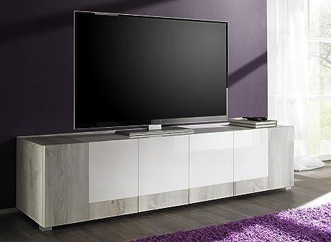 Zenzero Shop Credenza Moderna, Madia di Design, Porta TV, 4 ...