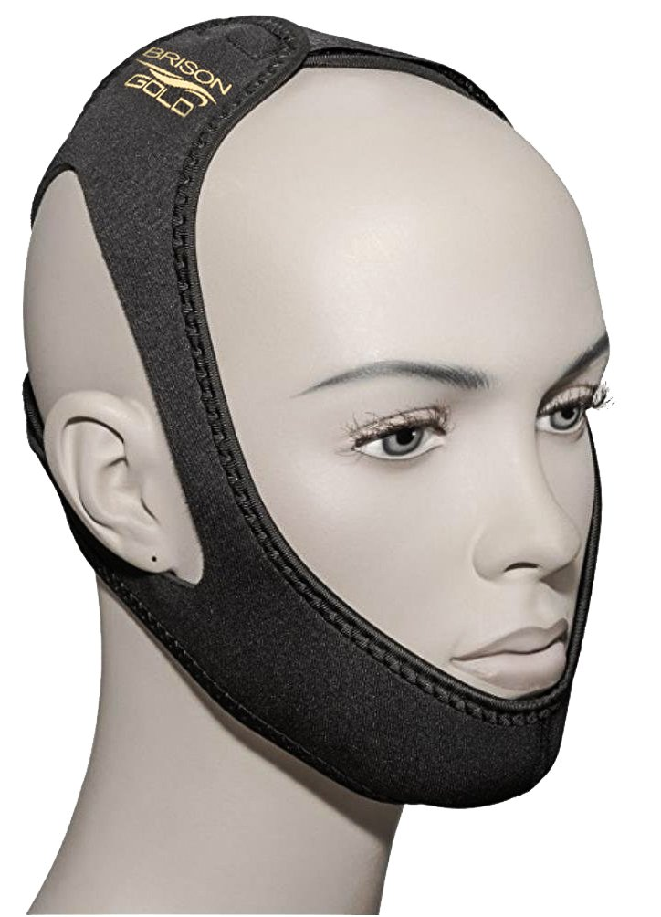 Snore Stopper Chin Strap for snoring Solution - Adjustable Comfortable Chin Straps Anti snoring Devices for Man and Woman Brison
