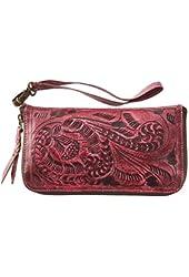 Women's Wild Olde West Leather Wallet