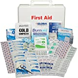 Medique Products 768ANSI Filled Fifty Person Plastic First Aid Kit