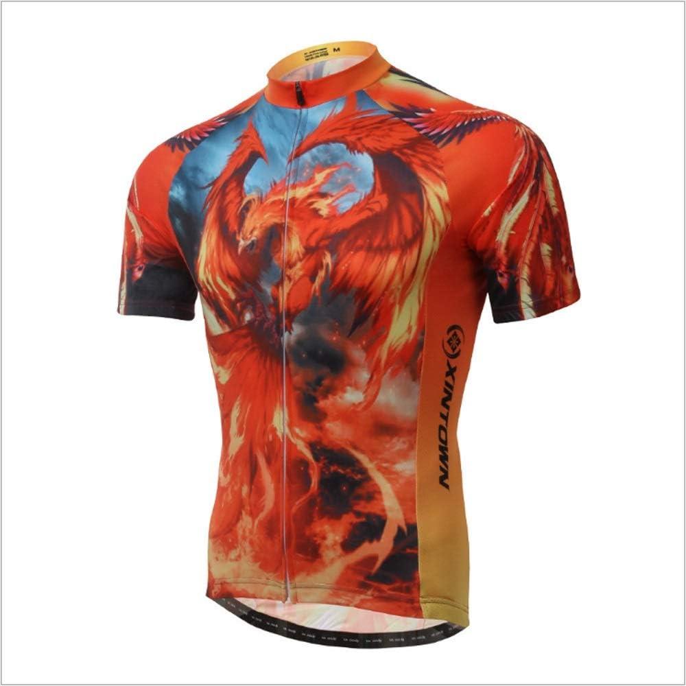 Unkoo Top Venta Ciclismo Camisa Chaqueta Malla Media Manga Transpirable Cómodo Seco rápido MTB Ciclismo de Carretera Bicicleta de montaña Jersey Ciclismo para Hombres También para Correr: Amazon.es: Deportes y aire libre