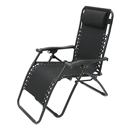 Amazon.com : Recliners Fold Chair Portable Summer Bed Office Siesta ...
