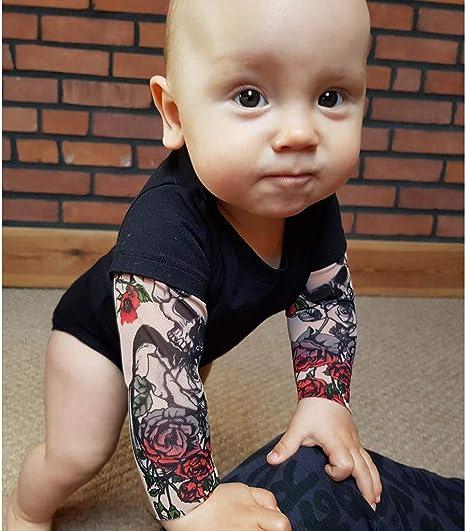 Dunpaiaa Bees Newborn Crawling Suit Sleeveless Romper Bodysuit Onesies Jumpsuit Black