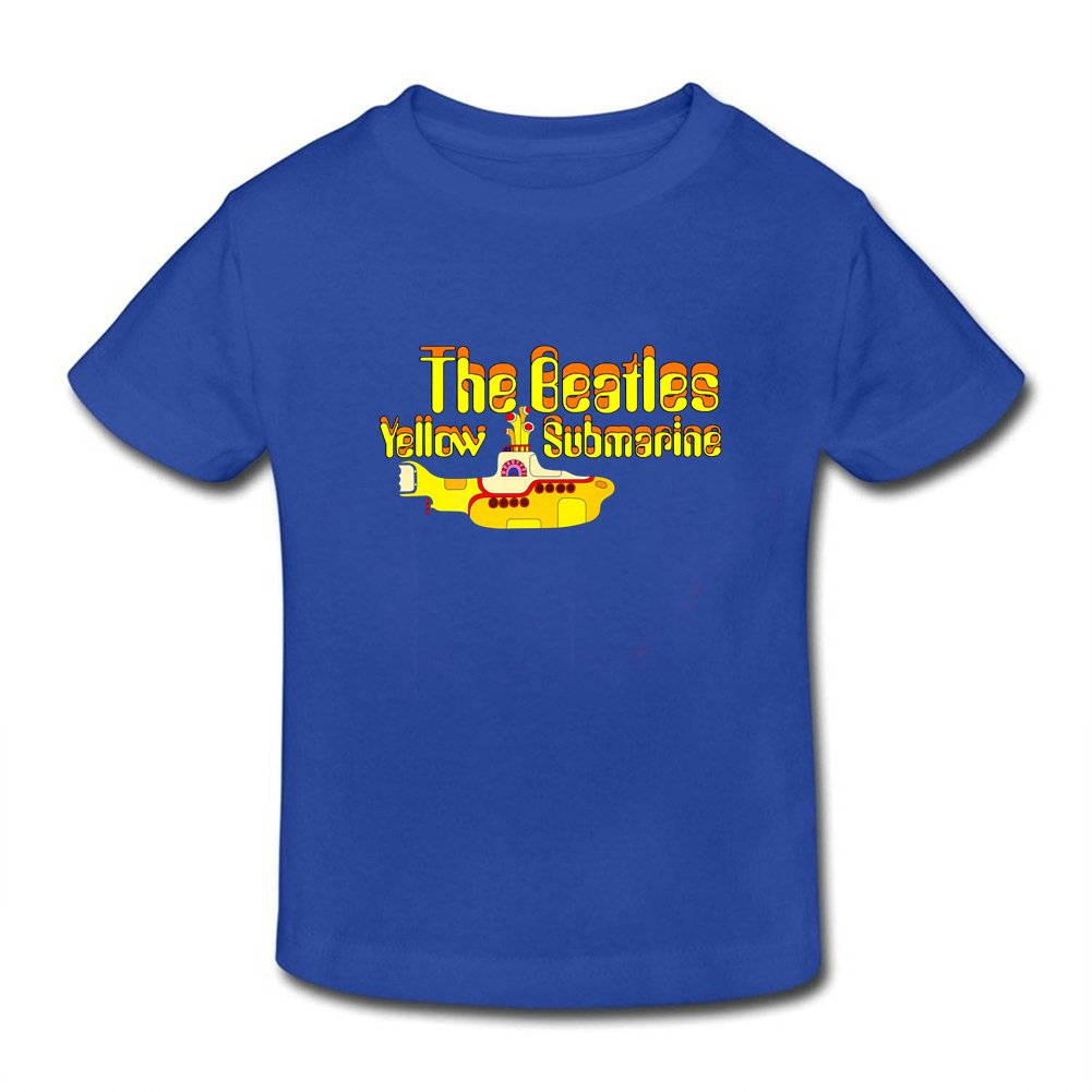 EdwinLiop Yellow Submarine Animated Musical Fantasy Little Boys Girls T Shirt for Toddler
