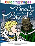 Beauty and the Beast Coloring Pages, Richard Hargreaves and Samantha Hargreaves, 1495476189