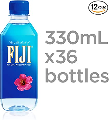 Amazon Com Fiji Natural Artesian Water 11 15 Fl Oz
