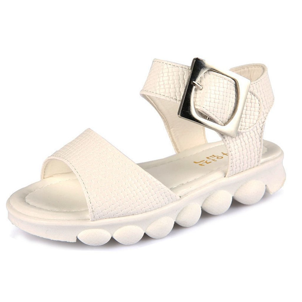 Girl Sport Open Toe Sandal Buckle Closure Summer Hot Water Shoes Casual Walke Sandals(Toddler/Little Kid) by GIY
