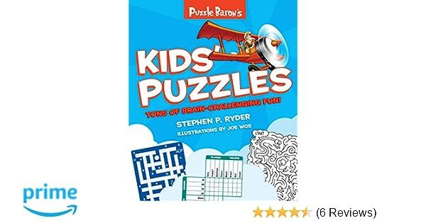 Puzzle Baron S Kids Puzzles Puzzle Baron 9781465464842