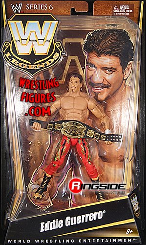 EDDIE GUERRERO - WWE LEGENDS 6 WWE TOY WRESTLING ACTION FIGURE