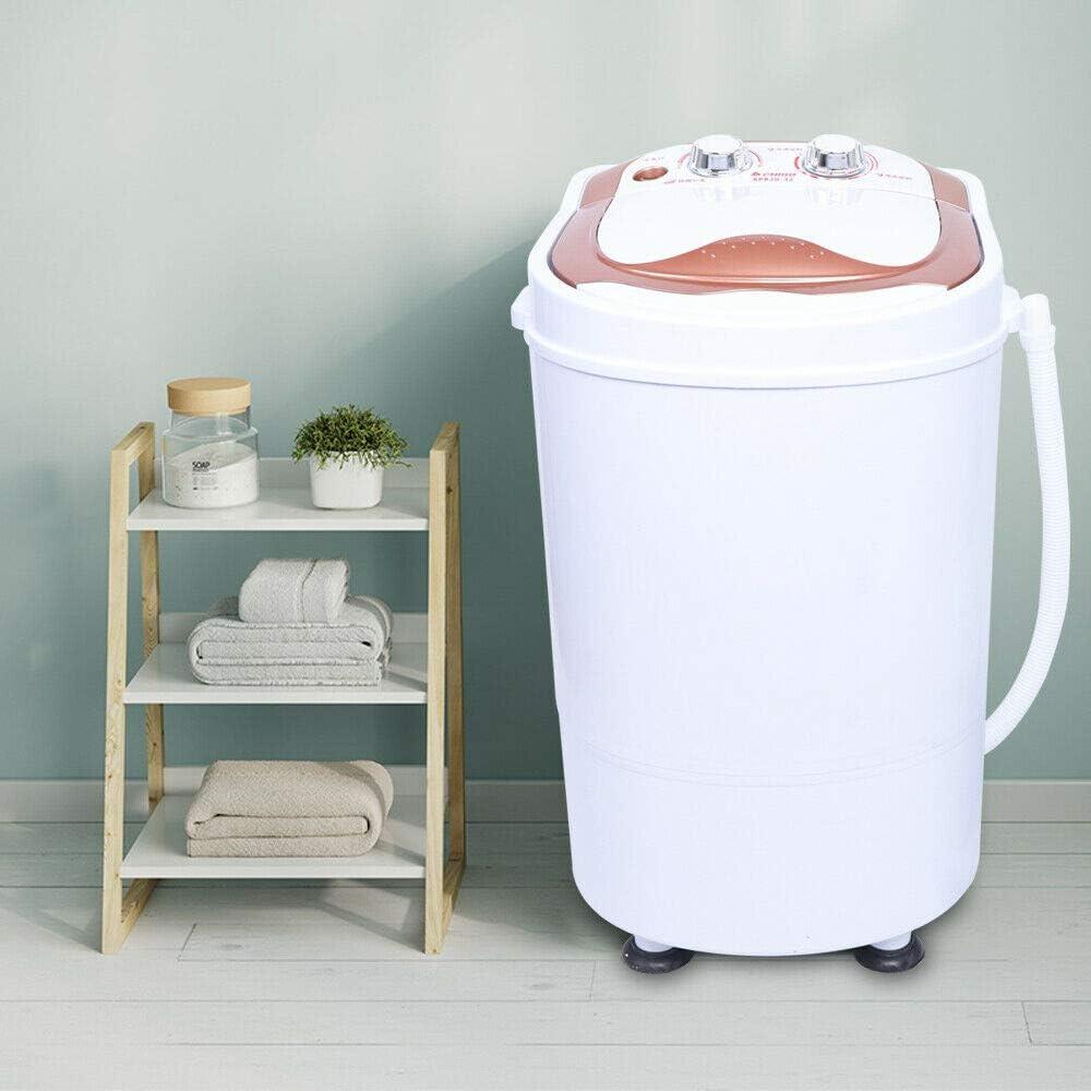 Mini lavadora con deshidratación 6 kg Camping Home: Amazon.es ...