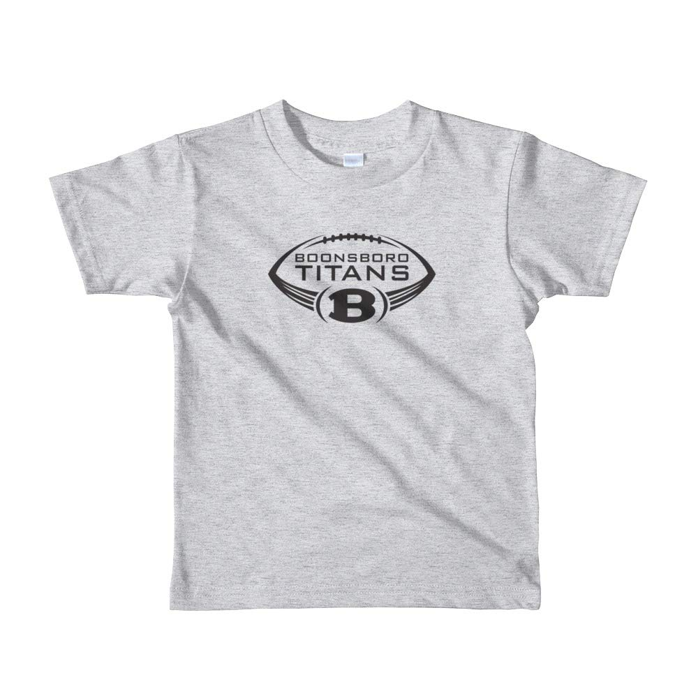 AO 2105W Little Boys Fine Jersey Short Sleeve T-Shirt Boonsboro Titans Football by Boonsboro Titans 2yrs