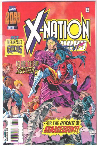 X-NATION 2099,ENTER THE MAD CALLED EXODUS,JUNE 1996, ISSUE 4