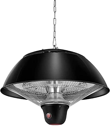 Amazon Com Hanging Patio Heater 1500w Electric Infrared Halogen Heaters Lamp Ceiling Mounted Style Outdoor Indoor Heating For Garden Balcony Courtyard Home Kitchen